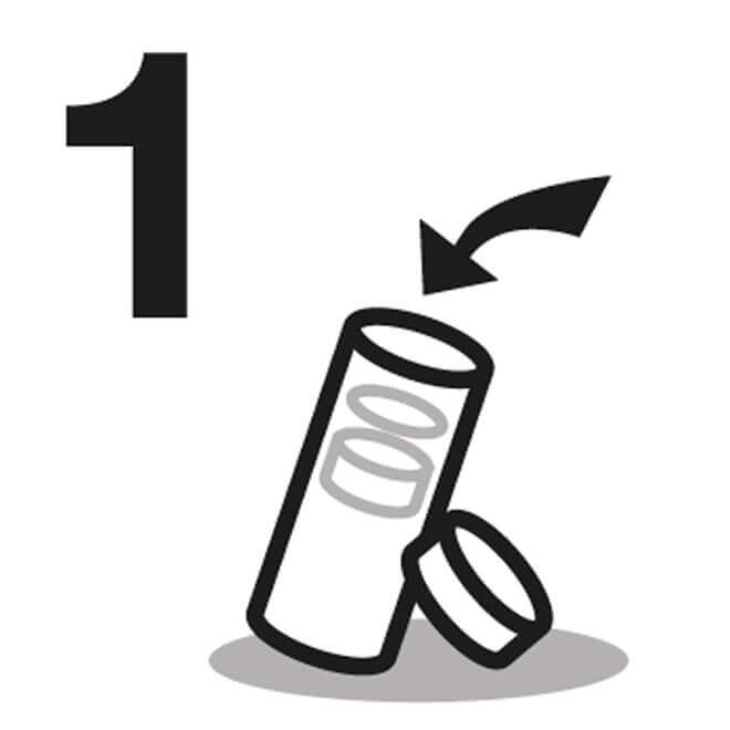 Instrucción de Botella De Agua para viaje 1