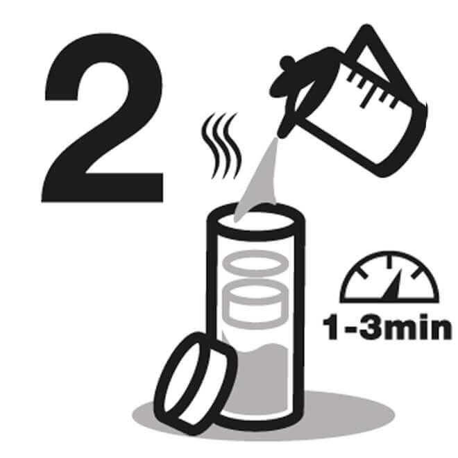 Instrucción de Botella De Agua para viaje 2